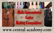 Malta | Guitar Making Competition | 2019
